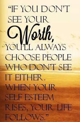 Self esteem rises